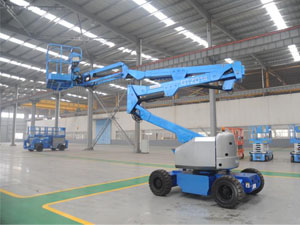 Dongfeng Jianghe Brand Electrcal Articulating Aerial Working Platform 14-17m