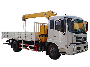 Dongfeng DFA1063 Truck Mounted With Crane Truck