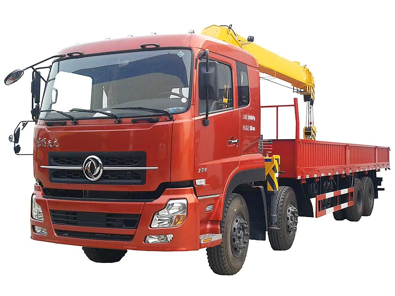 Dongfeng DFL1311 8x4 16-25T Truck Mounted With Crane